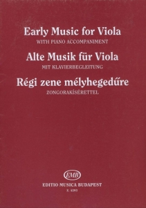 Brodszky Ferenc: EARLY MUSIC FOR VIOLA Music of th...