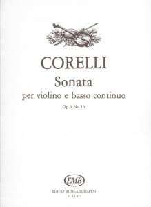 Corelli, Arcangelo: Sonata per violino e basso con...