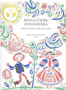 Czövek Erna: PIANO MINIATURES for children