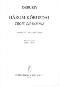Debussy, Claude: Trois chansons