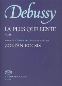 Debussy, Claude: La plus que lente