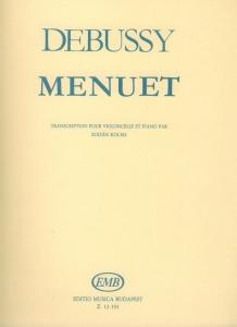 Debussy, Claude: Menüett