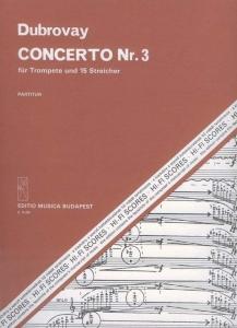 Dubrovay László: Concerto No. 3