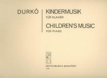 Durkó Zsolt: Children\'s Music for piano - Gyerme...