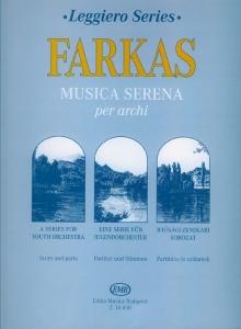 Farkas Ferenc: Musica serena per archi