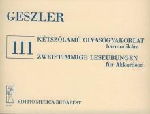 Geszler György, Vas Gábor: 111 Two-Part Reading ...