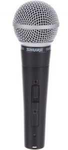 Microfon cu fir Shure SM 58 S