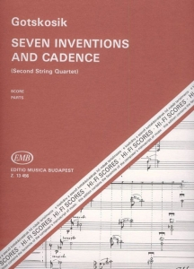 Gotskosik, Oleg: Seven Inventions and Cadence