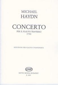 Haydn, Michael: Concerto per il flauto traverso (1...