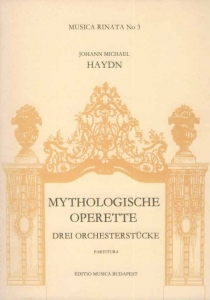 Haydn, Michael: Three Pieces for Orchestra from My...