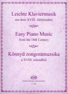 Hernádi Lajos: EASY PIANO MUSIC from the 18th cen...