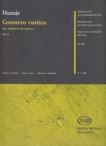 Huszár Lajos: Concerto rustico