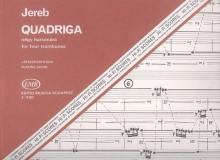 Jereb Ervin: Quadriga for four trombones