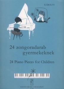 Károlyi Pál: 24 Piano Pieces for Children