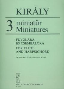 Király László: 3 Miniatures