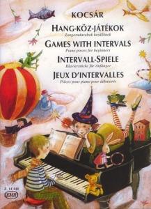 Kocsár Miklós: Games With Intervals Piano pieces...