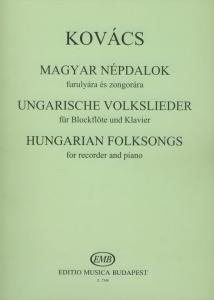 Kovács Mátyás: Hungarian Folksongs