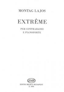 Montag Lajos: Extreme