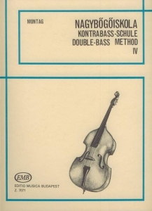 Montag Lajos: Double Bass Tutor 4