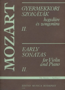 Mozart, Wolfgang Amadeus: Early Sonatas 2