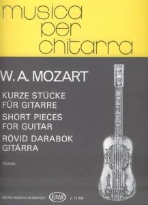 Mozart, Wolfgang Amadeus: Short Pieces