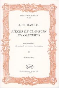 Rameau, Jean-Philippe: Pieces de clavecin en conce...