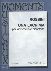 Rossini, Gioacchino: Una lacrima