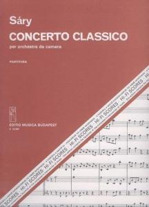 Sáry László: Concerto classico