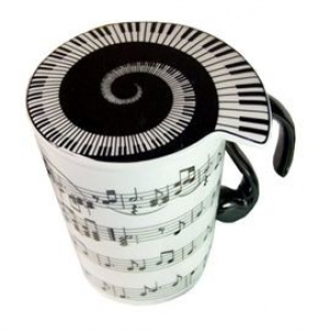Ceasca de ceai - Music Sales Cup with Lid