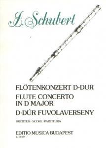 Schubert, Joseph: Fluteconcert in D