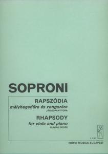 Soproni József: Rhapsody