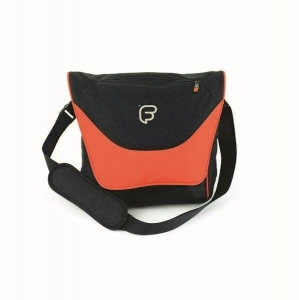 Geanta Laptop - Fusion F1-23 (black/orange)