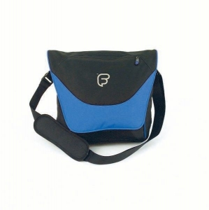 Geanta Laptop - Fusion F1-43 (black/blue)