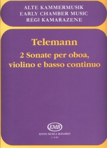 Telemann, Georg Philipp: 2 sonate