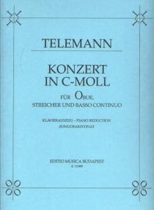 Telemann, Georg Philipp: Konzert in c-Moll für Ob...