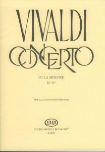 Vivaldi, Antonio: Concerto in la minore per fagott...