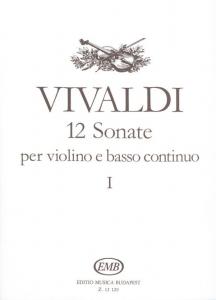 Vivaldi, Antonio: 12 sonate per violino e basso co...