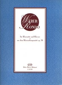 Weber, Carl Maria von: Rondo aus dem Klarinettenqu...