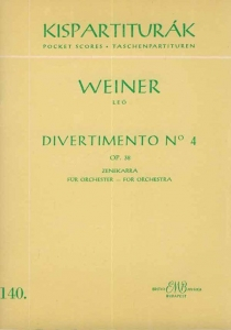 Weiner Leó: Divertimento No. 4