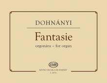 Dohnányi Ernő: Fantasie for organ First edition