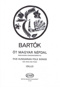 Bartók Béla: Five Hungarian Folksongs