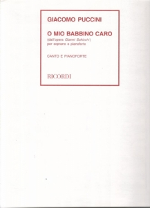 Puccini, Giacomo: O MIO BABBINO CARO (DALL\'OPERA ...