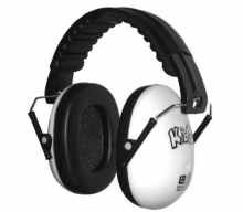 EDZ KIDZ - Casca de protectie auditiva - Alb