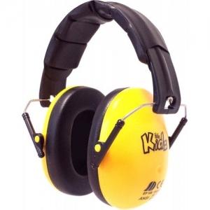 EDZ KIDZ - Casca de protectie auditiva - Galben