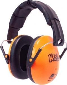 EDZ KIDZ - Casca de protectie auditiva - Orange Go...