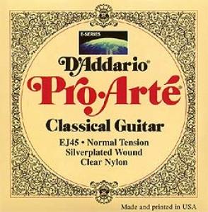 Corzi Chitara Clasica - Daddario EJ45 - Pro Arte