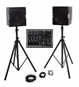 Sistem complete de Sonorizare Alpha Audio a-Amp Co...