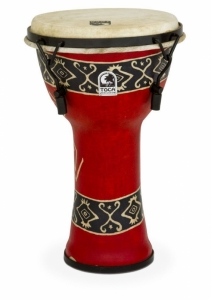 Djembe Freestyle Mechanically Tuned Toca Bali Red ...
