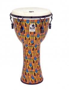 Djembe Freestyle Mechanically Tuned Toca Kente Clo...
