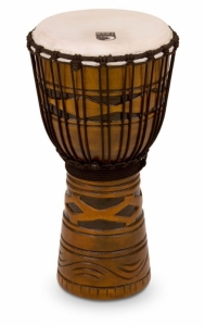 Djembe Origins Series Rope Tuned Wood Toca African...